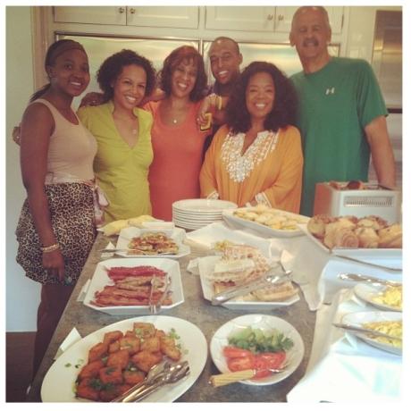 Oprah & Family