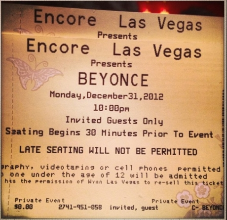 Beyonce NYE5