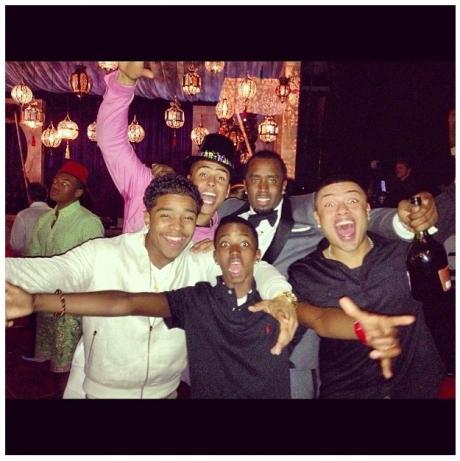 Diddy & Fam NYE