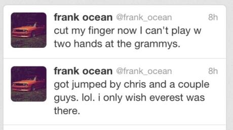 Frank Ocean's Tweet