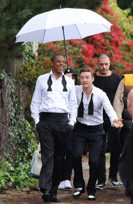 Justin & Jay-Z Suit & Tie