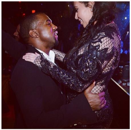 Kim & Kanye NYE