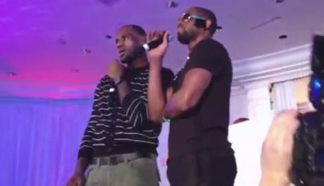 Lebron & DWade Singing
