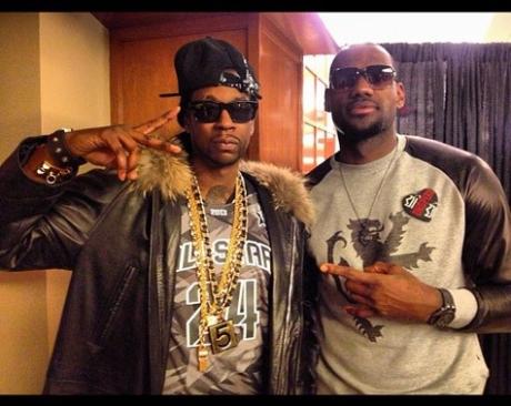 2 Chainz & Lebron James