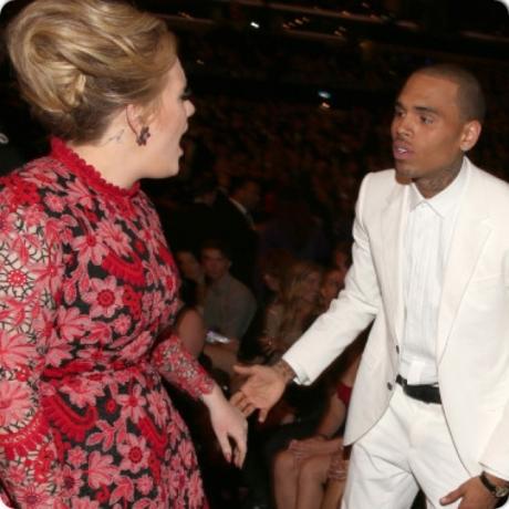 Adele & Chris Brown
