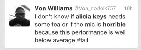Alicia Keys Fan Tweet1