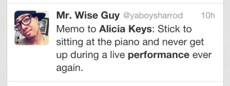 Alicia Keys Fan Tweet3