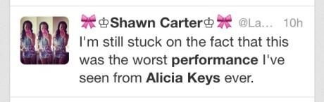 Alicia Keys Fan Tweet5