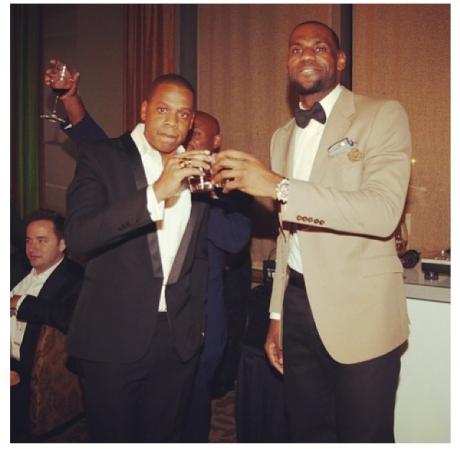 Jay-Z & Lebron