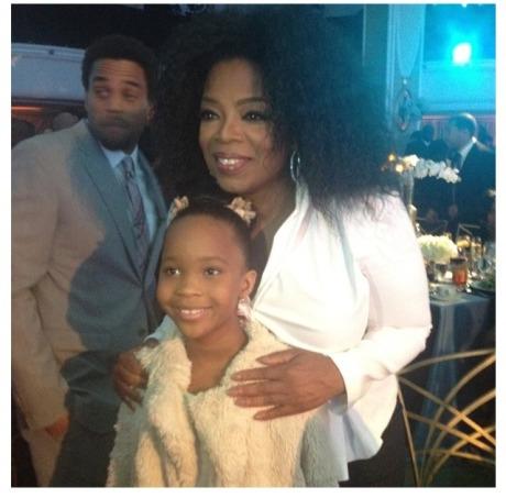 Oprah & Quvenzhane Wallis