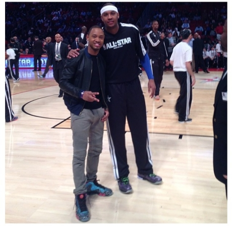Terrence J & Carmelo Anthony
