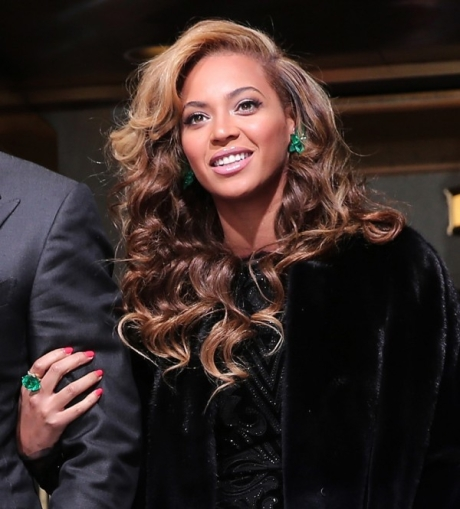 Beyonce in Emerald