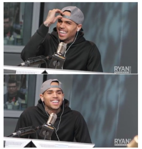 Chris Brown Ryan Seacrest