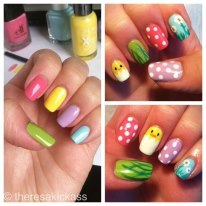 Easter Nails 5