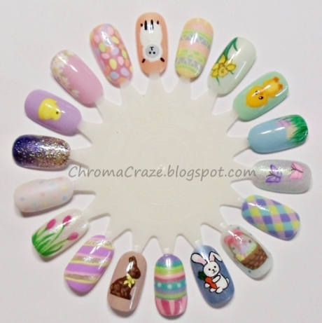 Easter Nails 7