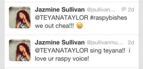 Jazmine Sullivan Tweets