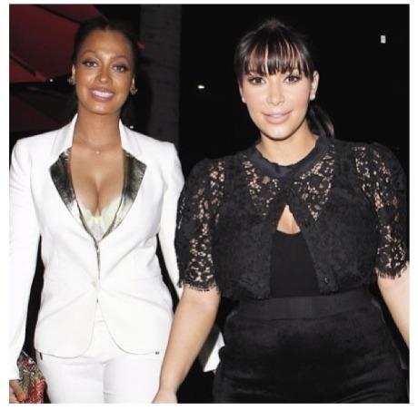 Kim Kardashian & La La Anthony1