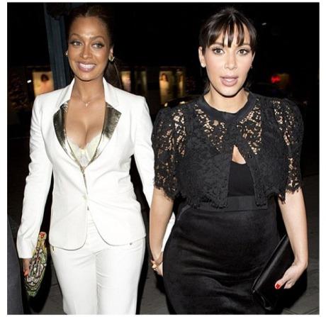 Kim Kardashian & La La Anthony2