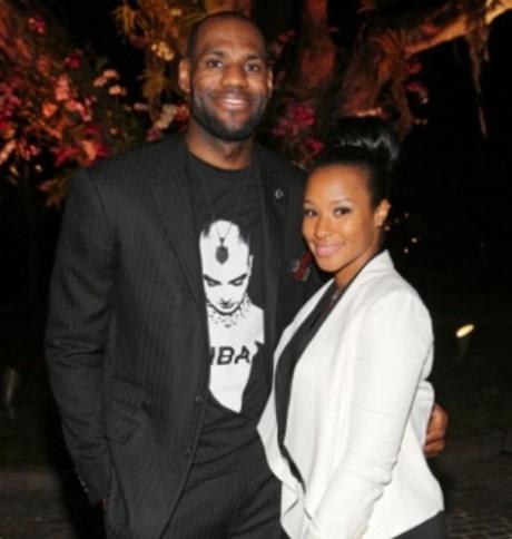 LeBron James & Savannah Brinson