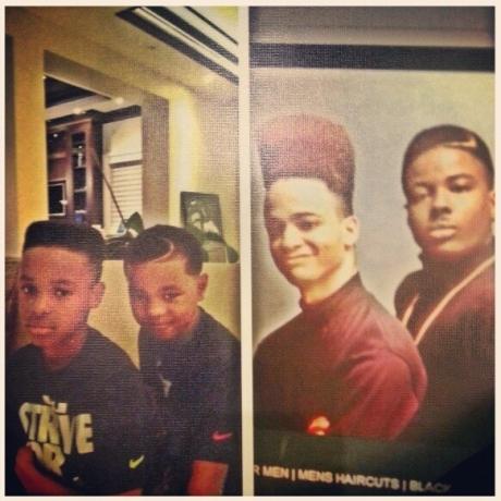 LeBron James' Sons