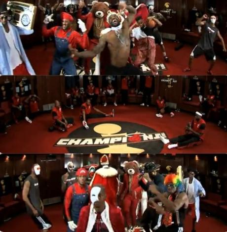 Miami Heat Harlem Shake