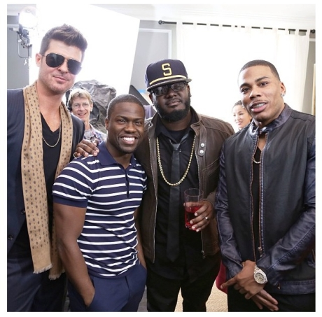 RHOH Robin Thicke, Kevin Hart, T-Pain, Nelly
