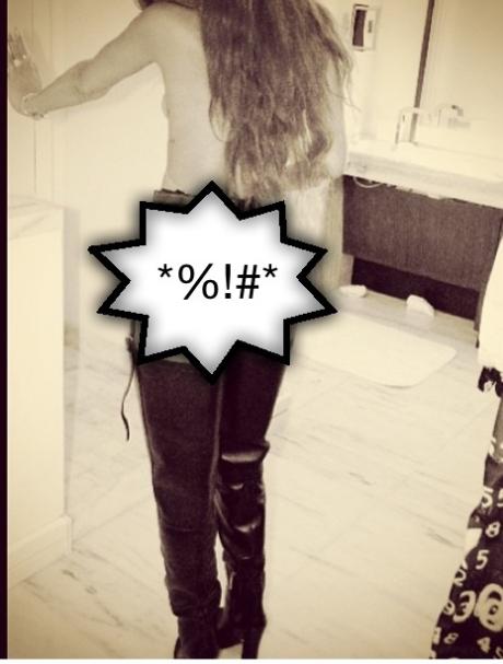 Rihanna Prada Boots
