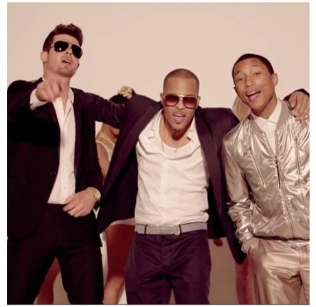 Robin Thicke, T.I., Pharrell