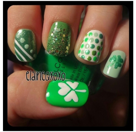 St. Patty's Day Nails 5