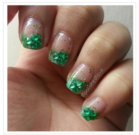 St. Patty's Day Nails 6