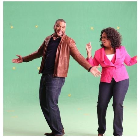 Tyler Perry & Oprah