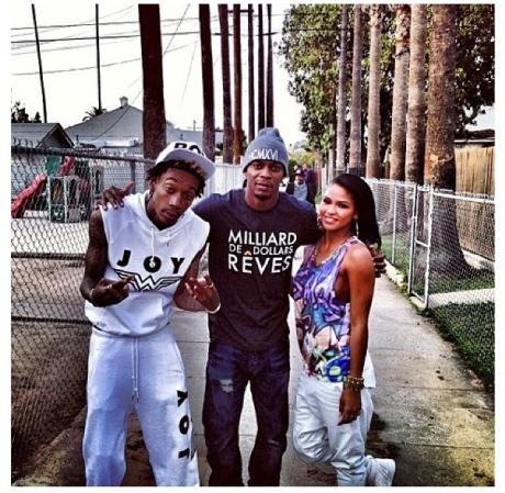 Wiz Khalifa & Cassie