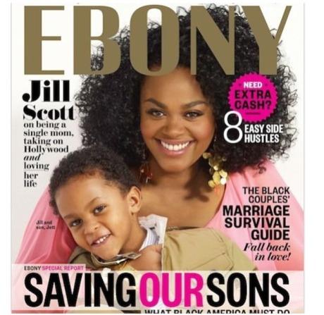 Jill Scott Ebony Cover