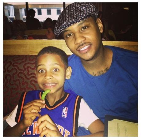 Kiyan & Carmelo Anthony
