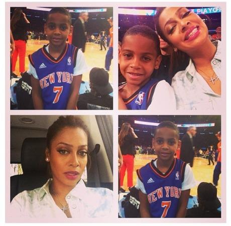 La La Anthony NY Knicks Collage