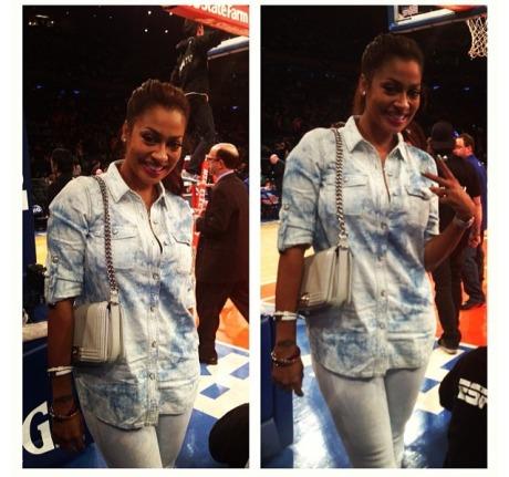 La La Anthony NY Knicks