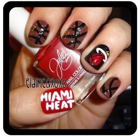 Miami Heat nails