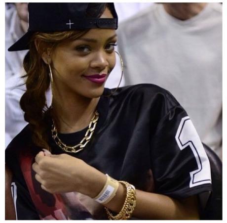 Rihanna Miami Heat3