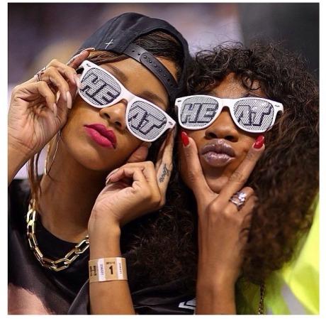 Rihanna Miami Heat4
