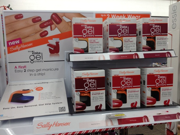 MANICURE MONDAYS: Sally Hansen Insta Gel Nail Strips –