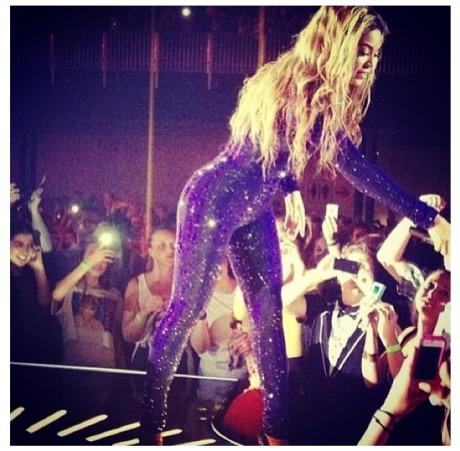 Beyonce in Denmark