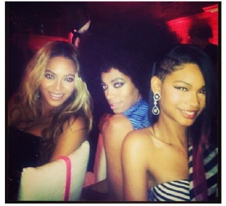 Beyonce Solange Chanel Iman