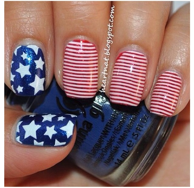 Manicure Mondays Memorial Day Nail Designs