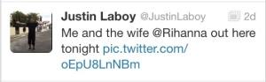 Mystery man tweet