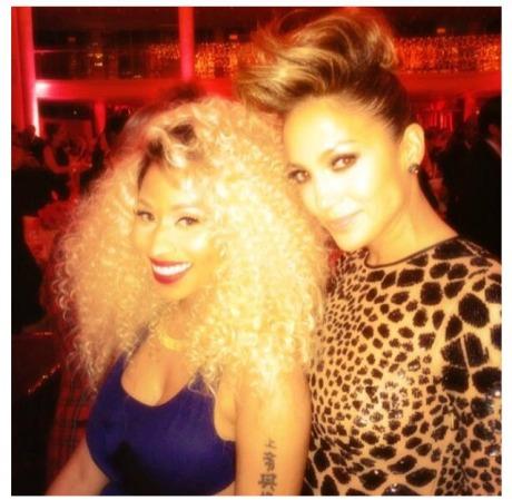 Nicki Minaj and Jennifer Lopez