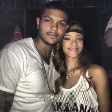 Rihanna and mystery man2