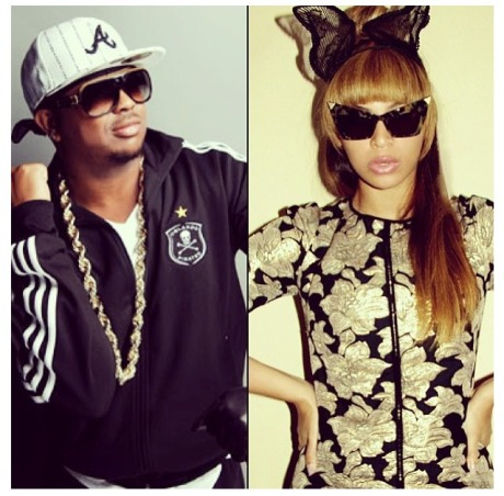 The-Dream and Beyonce