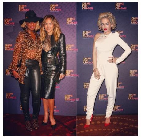 CFC Mary J. Blige, Jennifer Lopez and Rita Ora