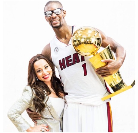 Chris and Adrienne Bosh 2