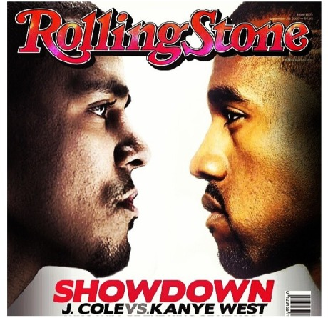 J. Cole and Kanye West